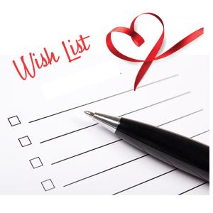 Help us check off an item from our wish list!